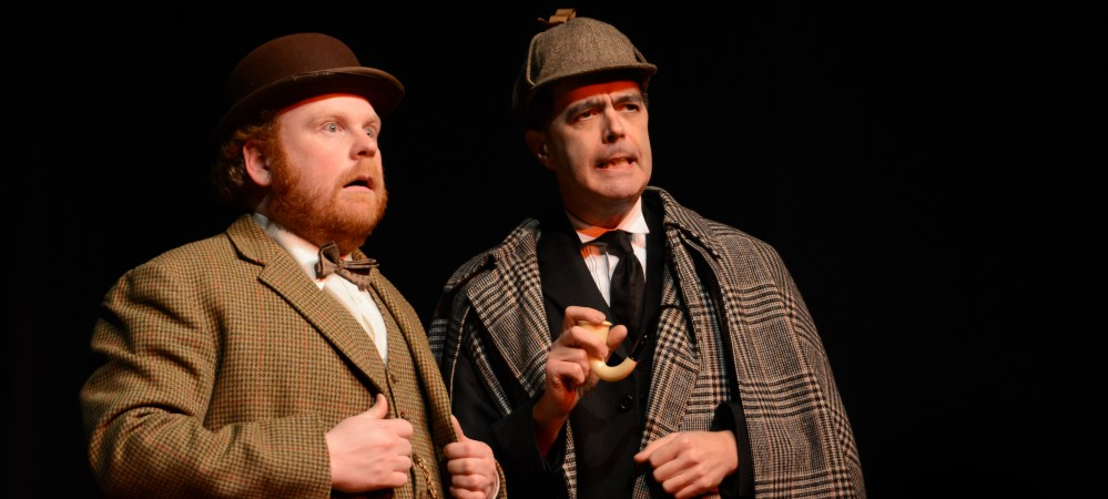David Mears as Watson & Paul Tomlinson as Holmes
