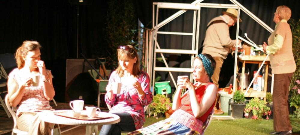 Natalie as Jo, Charlotte as Sarah & Lindsey as Ruth