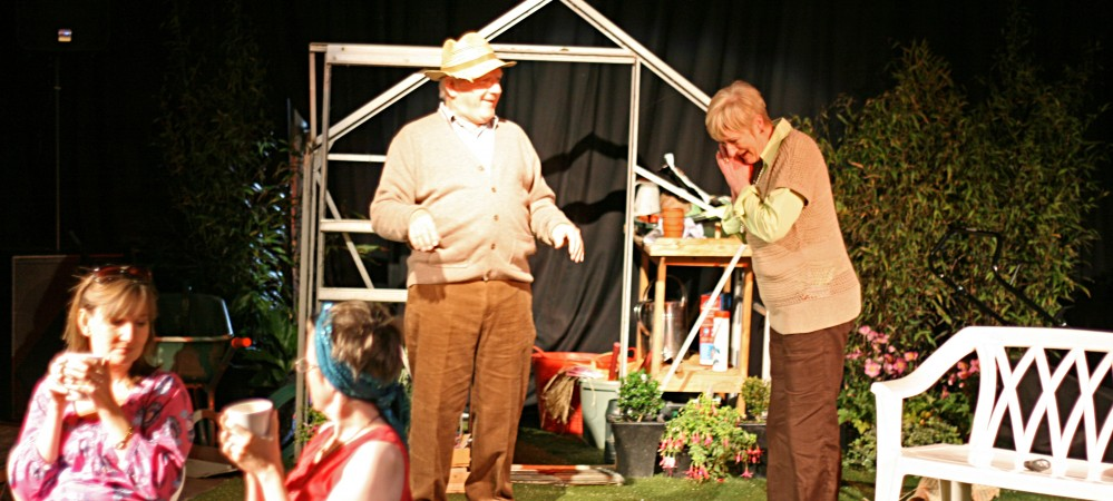 Philip Hickson as Bardolph & Elspeth Dales as Grace