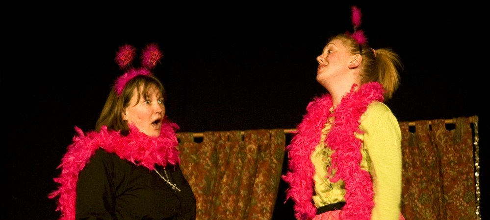 Nicky Cox as Geraldine & Abi Sloane as Alice