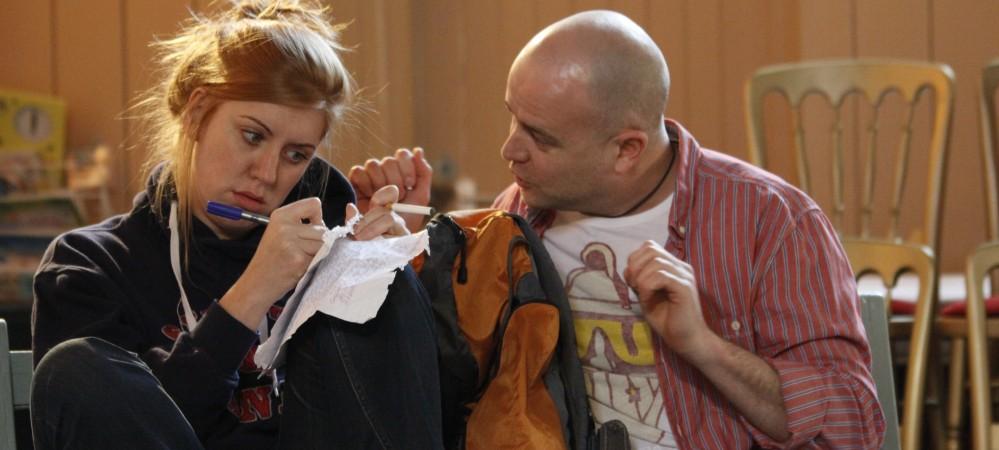 Abi Sloan as Beryl & Richard Ball as Arthur