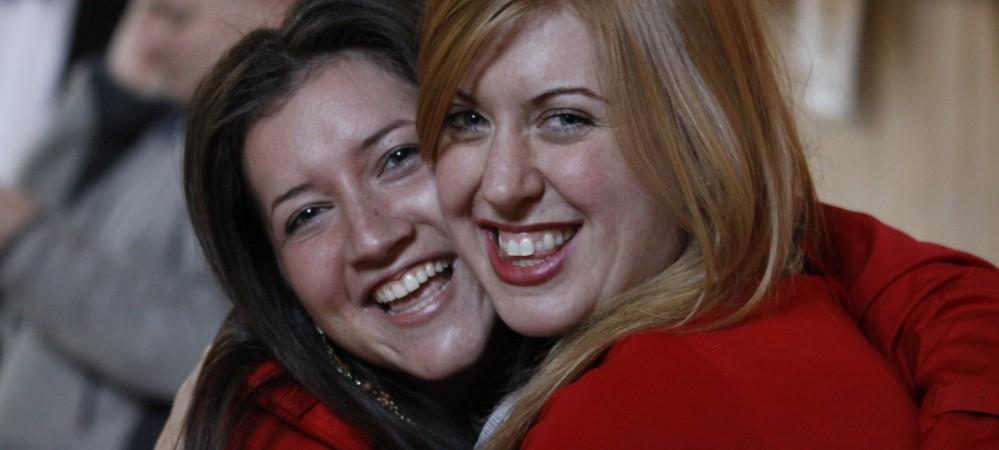 Abi as Bernice & Joana as Paula