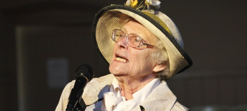 Shirley Allwork as Cllr Mrs Pearce