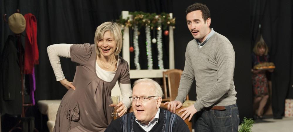 Anne as Belinda, Philip as Harvey & Dominic as Eddie