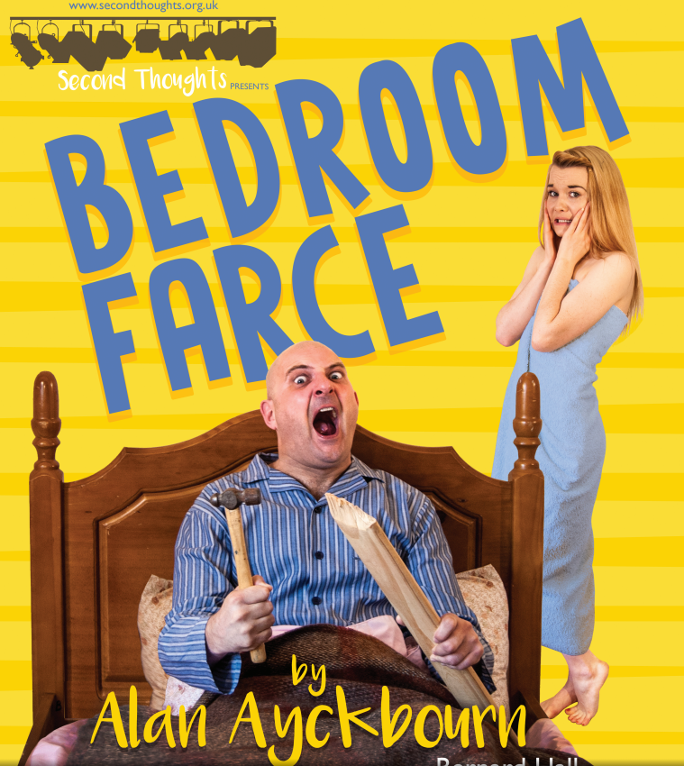Bedroom farce the bear pit for Farcical comedy plays