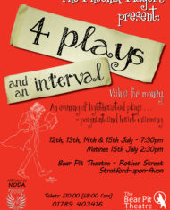 Four Plays and an Interval