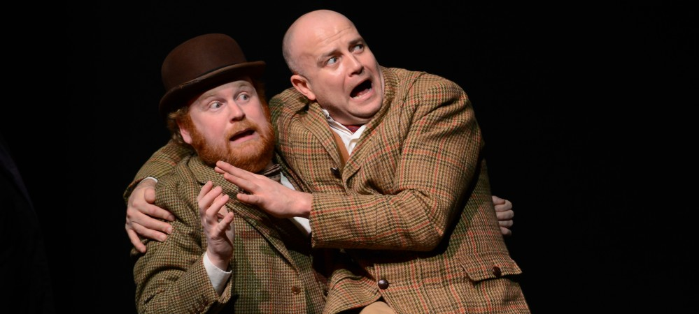 David Mears as Watson & Richard Ball as Sir Henry Baskerville