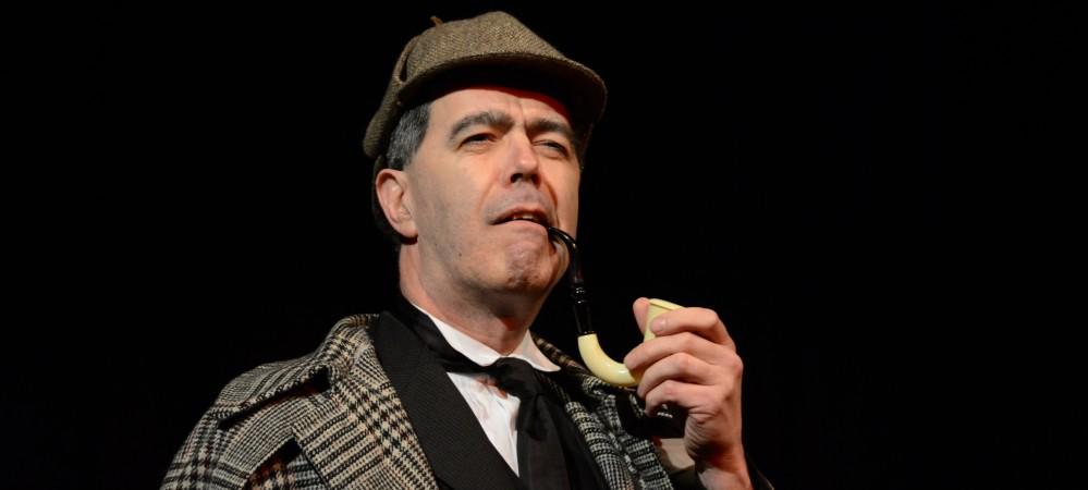 Paul Tomlinson as Sherlock Holmes