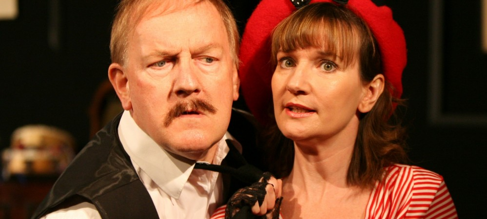 Philip Hickson as Rene and Charlotte Froud as Michelle
