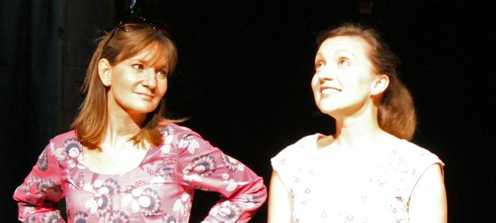 Charlotte Froud as Sarah & Natalie Danks-Smith as Jo
