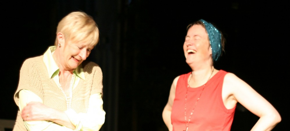Elspeth Dales as Grace & Lindsey Allwork as Ruth