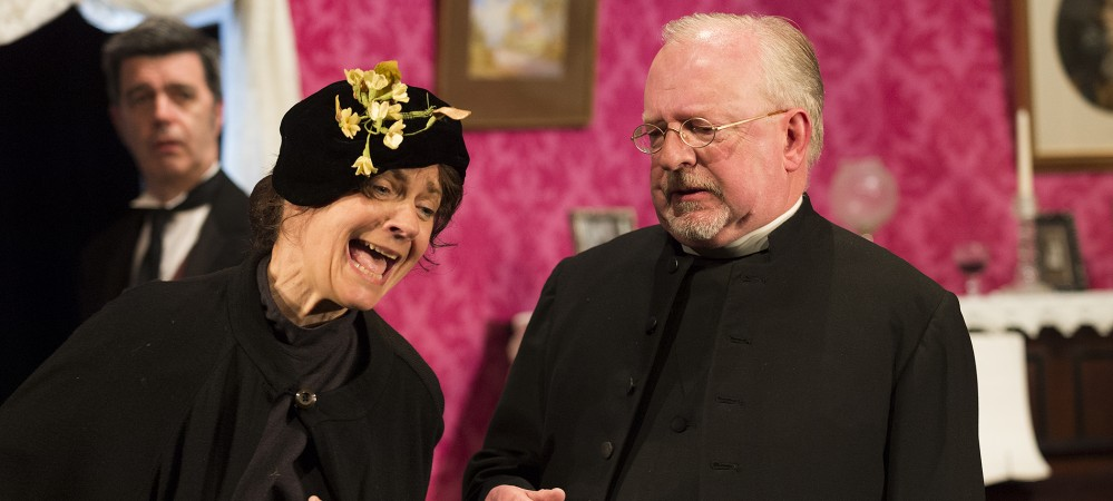 Niki Baldwin as Mrs Northrop & David Southeard as Rev Mercer
