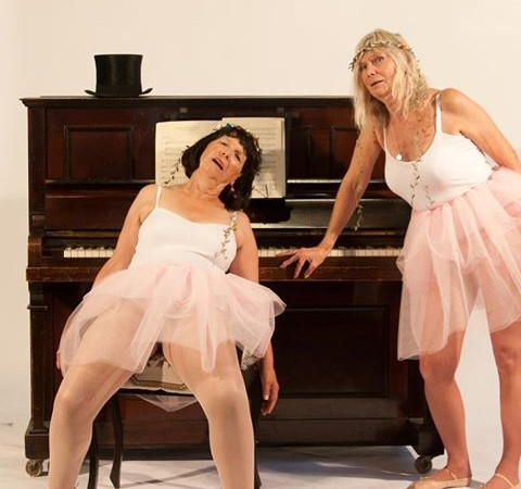 Gill Butler & Jennifer Franey as The Sugar Plum Fairies