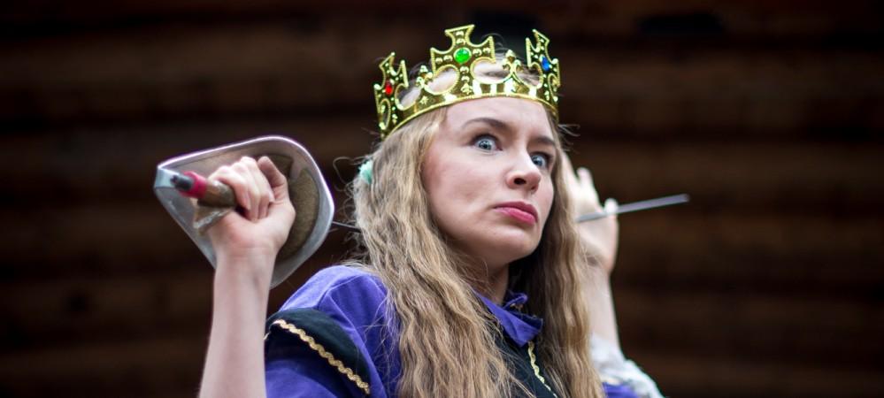 Irene Kelleher as Mrs Shakespeare