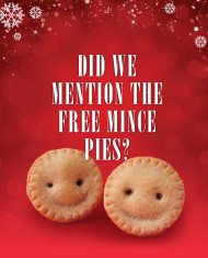 Did We Mention the Free Mince Pies?